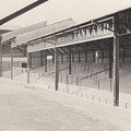 Luton Town - Kenilworth Road - Oak Road Terrace South Goal 1 - Bw - April 1969 by Legendary Football Grounds