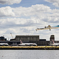 Lux Air London City Airport by David Pyatt