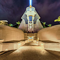 Luxor Casino Egyptian Sphinx Las Vegas Night by Aloha Art