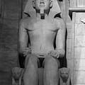 Luxor Interior 3 B W by Teresa Mucha