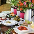 Luxurious Breakfast Buffet  by Oren Shalev