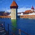 Luzern Tower by Chuck Shafer