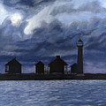 Lydia Ann Lighthouse by Adam Johnson