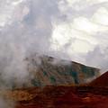 Lying Dormant In The Clouds II- Haleakala by Patricia Griffin Brett