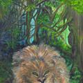 Lying Lion by Mikki Alhart