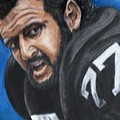 Lyle Alzado by Kenneth Kelsoe