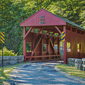 Lyle Covered Bridge by Jack R Perry