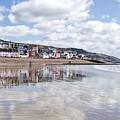 Lyme Regis Seafront by Susie Peek