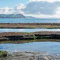 Lyme Regis Seascape 2 - October by Susie Peek