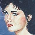 Lynda Carter by Bryan Bustard