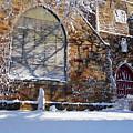 Lynn Central Congregational Church Lynn Ma Winter by Toby McGuire
