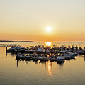 Lynn Harbor Sunrise Lynn Ma by Toby McGuire