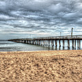 Lynnhaven Fishing Pier, Bay Side by Greg Hager
