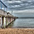 Lynnhaven Fishing Pier, Ocean Side by Greg Hager