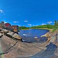 Lyons Falls by Pete  Babij