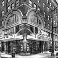 Lyric Theatre B W Historic Vaudeville Theatre Birmingham Alabama Art by Reid Callaway