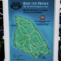 M 185 Ride The Fringe Signage Mackinac Island Michigan Vertical by Thomas Woolworth