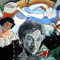 M Chagall by Leyla Munteanu