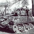 M4 Sherman by Dorothy Binder