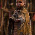 Maasai Boy by Adam Romanowicz