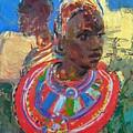 Maasai Daydream by Michelle Philip