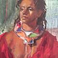 Maasai Pride by Michelle Philip