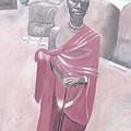 Maasai Tribesman by Keith Bagg