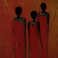 Maasai Trio  by David Dehner