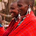 Maasai Women by Adam Romanowicz