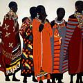 Maasai Women by Irene Jonker