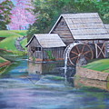 Mabry Mill by Audrie Sumner