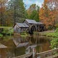 Mabry Mill In Fall 2 by Kevin Craft