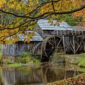 Mabry Mill In Fall 3 by Kevin Craft