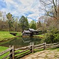 Mabry Mill In The Spring by Chris Berrier