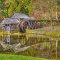 Mabry Mill Reflections by Tom Weisbrook