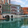 Macau China Attractions by Sergey Nosov