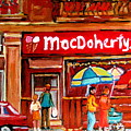 Macdohertys Icecream Parlor by Carole Spandau