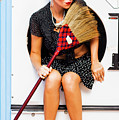 Machine Wash Housewife by Jorgo Photography - Wall Art Gallery