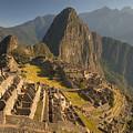 Machu Picchu At Dawn Near Cuzco Peru by Colin Monteath