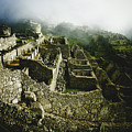 Machu Picchu In The Fog by Sonal Dave