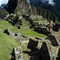 Machu Picchu New World Wonder by James Brunker