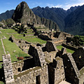 Machu Picchu Residential Sector by James Brunker