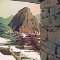 Machu Picchu Vista- Peru by Ryan Fox