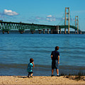 Mackinac Bridge Boys by Jeff Kurtz