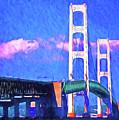 Mackinac Bridge by Dennis Cox