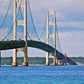 Mackinac Bridge by Michael Peychich