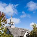 Mackinac Island Church by John Vial