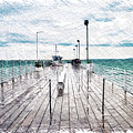 Mackinac Island Michigan Shuttle Pier Pa 02 by Thomas Woolworth
