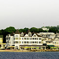 Mackinac Island View From The Boat by Randy J Heath