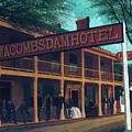 Macomb's Dam Hotel by M A Sullivan